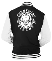 PENNYWISE CIRCUS VARSITY - INSPIRED BY PENNYWISE CLOWN IT STEPHEN KING